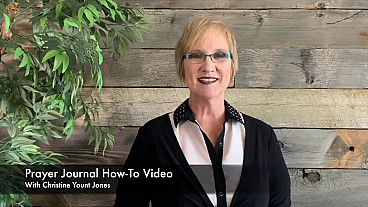 Prayer Journal How-To Video