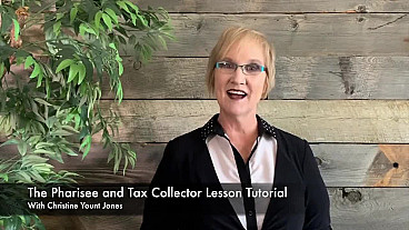 The Pharisee and Tax Collector Lesson Tutorial