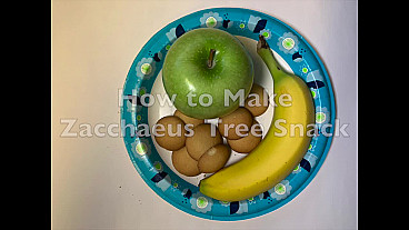 How to Make Zacchaeus Tree Snack