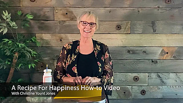 A Recipe for Happiness How-to Video