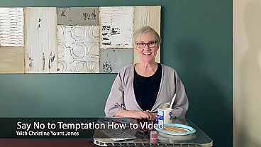 Say No to Temptation How-to Video