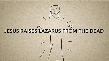 Jesús resucita a Lázaro de entre los muertos
