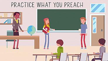 Practica lo que predicas