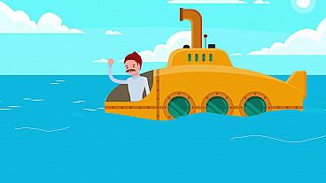 El submarino Sam y Jonás