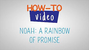 Noé - Un arcoiris de promesas - Paso a paso